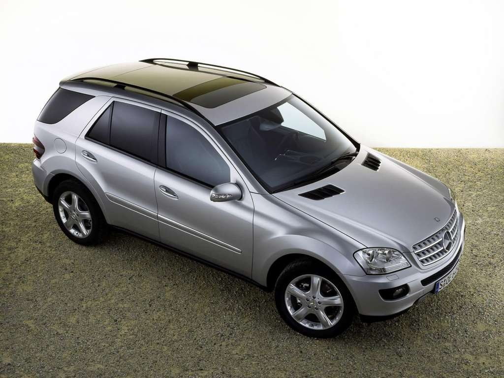 Mercedes benz ml350 wallpapers by cars for Mercedes benz ml 350 2007
