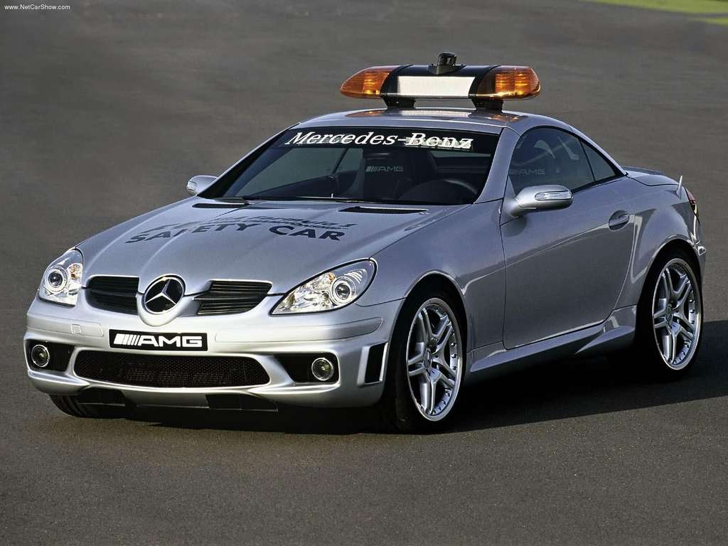 Mercedes benz slk55 amg f1 safety car wallpapers by cars for Mercedes benz f1