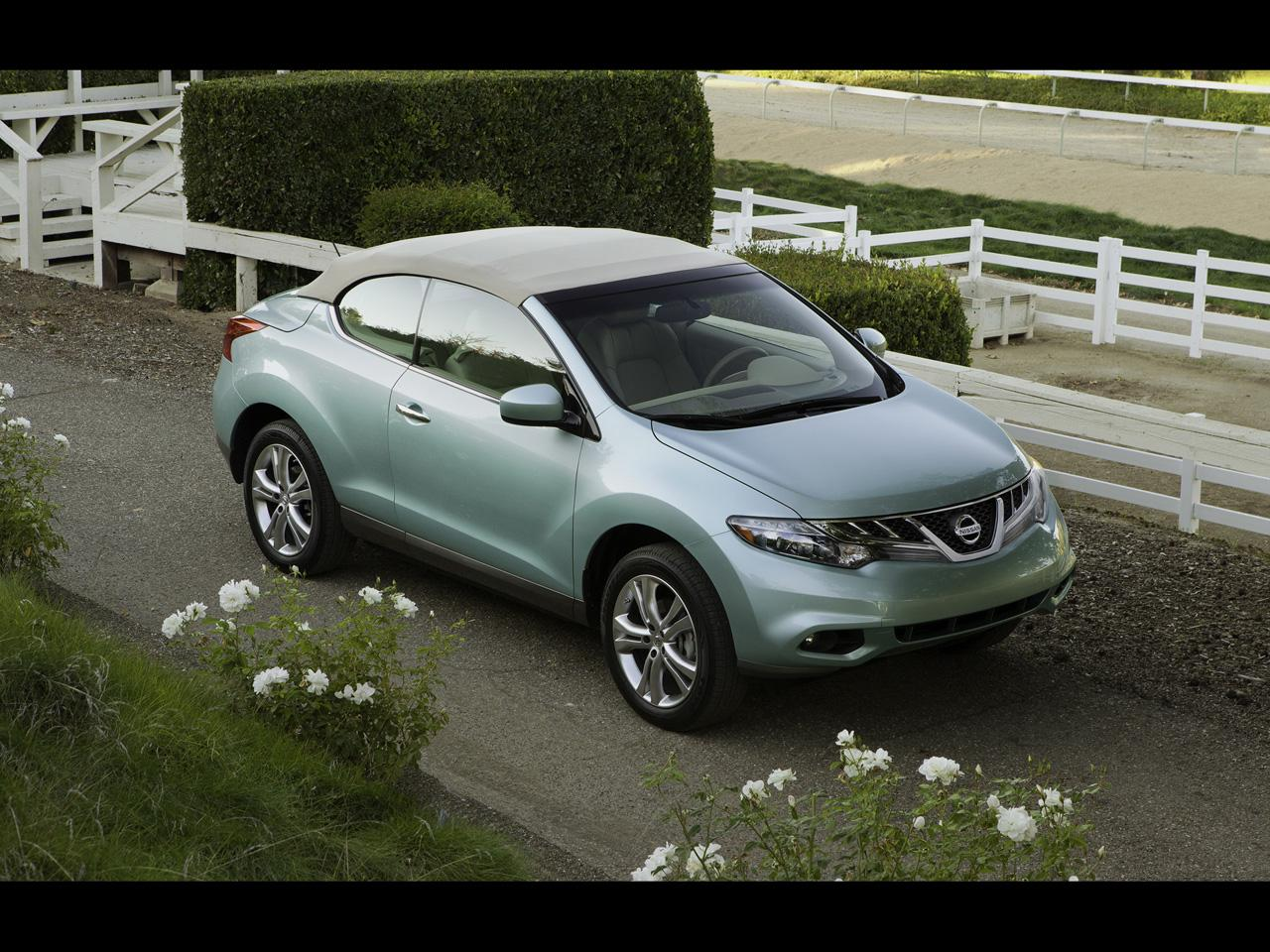 2011 Nissan Murano Cross Cabriolet Wallpapers Car And